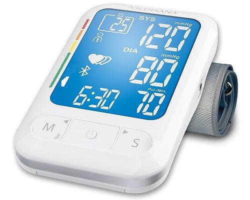 Tensiómetro de brazo con Bluetooth Mediasana BU-550 barato, tensiómetros baratos, chollos en tensiómetros, ofertas en tensiómetros