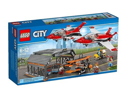 Aeropuerto espectáculo aéreo de LEGO City barato, juguetes baratos, chollos en juguetes, ofertas en juguetes