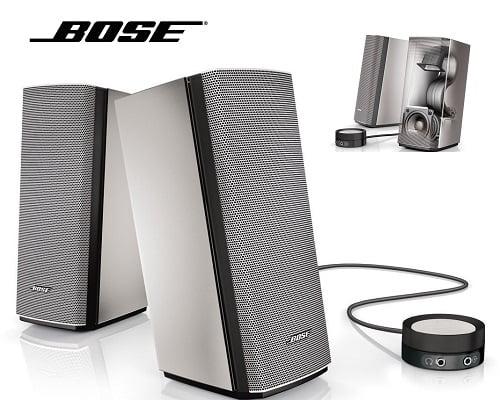 Altavoces Bose Companion 20 baratos, altavoces baratos, chollos en altavoces, ofertas en altavoces
