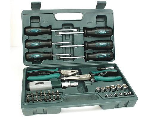Juego de herramientas Mannesmann M 29110 barato, juegos de herramientas baratos, chollos en juegos de herramientas, ofertas en juegos de herramientas