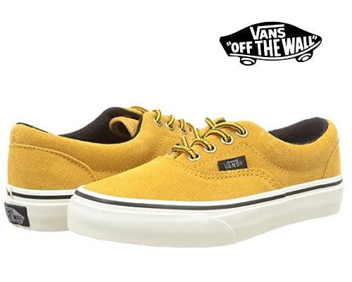 Zapatillas para niños Vans Era Suede baratas, zapatillas Vans baratas, chollos en zapatillas Vans, calzado de marca barato