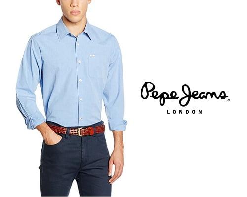 Camisa Pepe Jeans Troilo barata, camisas baratas, chollos en camisas, ofertas en camisas