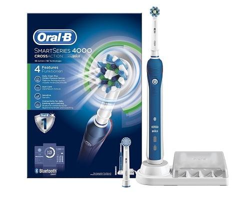 Cepillo de dientes eléctrico Oral-B SmartSeries 4000 CrossAction barato, cepillos baratos, chollos en cepillos, ofertas en cepillos