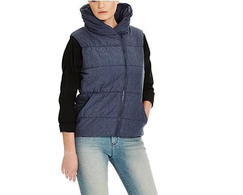 Chaleco deportivo para mujer Bench barato, chalecos baratos, chollos en chalecos, ofertas en chalecos