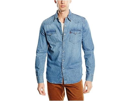 Camisa Levi's BARSTOW WESTERN barata, camisas baratas, chollos en camisas, ofertas en camisas