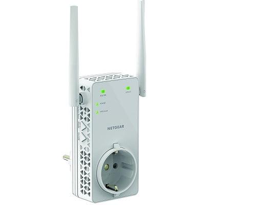 Extensor de red WiFi Netgear EX6130-100PES barato, extensores de red WiFi baratos, chollos en extensores de red WiFi, ofertas en extensores de red WiFi
