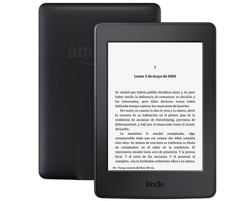 Libro electrónico Nuevo Kindle Paperwhite barato, chollos en libros electrónicos, libros electrónicos baratos