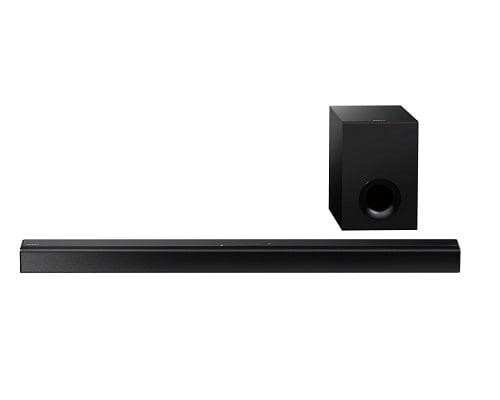 Conjunto de barra de sonido y altavoz Sony HT-CT80 barato, barras de sonido baratas, chollos en barras de sonido, ofertas en barras de sonido