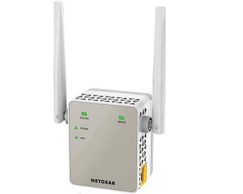 Extensor de red WiFi Netgear EX 6120-100 PES barato, extensores de WiFi baratos, chollos en extensores de WiFi, ofertas en extensores de WiFi