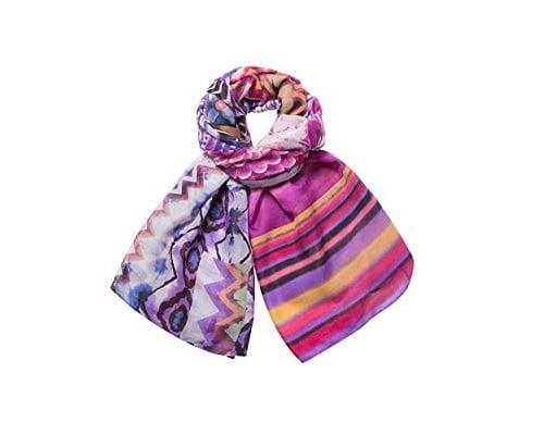 Fular Desigual Ethnic Dye barato, fulares baratos, chollos en fulares, ofertas en fulares