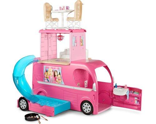 Autocaravana divertida de Barbie barata, chollos en jueguetes, juguetes baratos, Barbies baratas