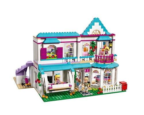La casa de Stephanie de LEGO, juguetes baratos, chollos en juguetes, ofertas en juguetes