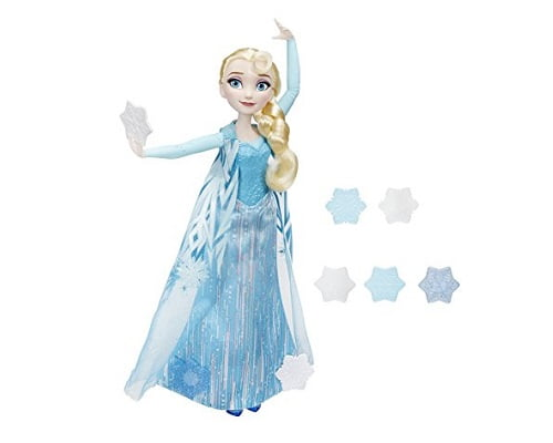 Muñeca Elsa copos mágicos de Frozen barata, juguetes baratos, chollos en juguetes, ofertas en juguetes
