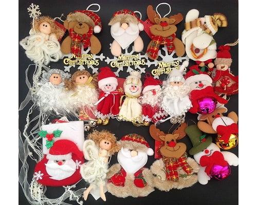 Muñecos colgantes para árbol de Navidad baratos, chollos en adornos de navidad, ofertas en adornos de navidad, chollos en colgantes navideños,, colgantes navideños baratos