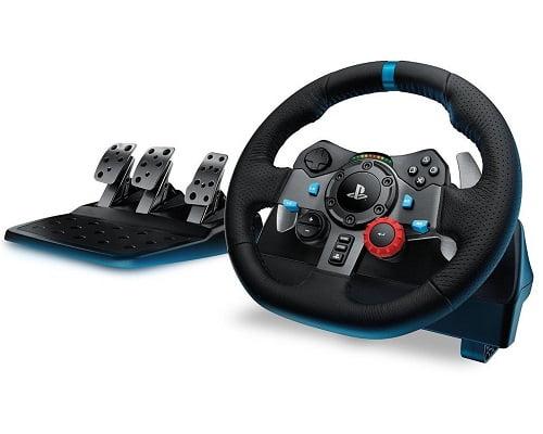Volante con pedales Logitech barato, volantes de simulación baratos, ofertas en volantes de simulación, chollos en volantes de simulación