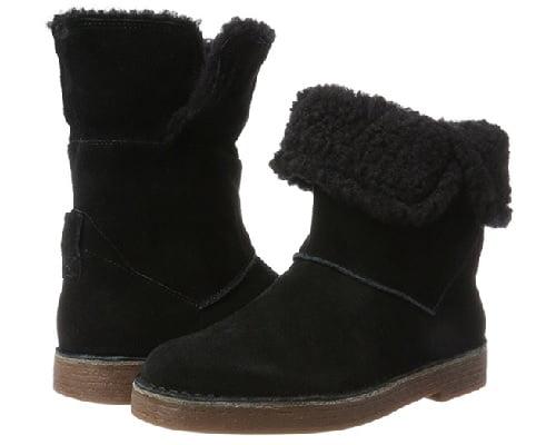 Botas para mujer Clarks Drafty Haze baratas, botas baratas, chollos en botas, ofertas en botas
