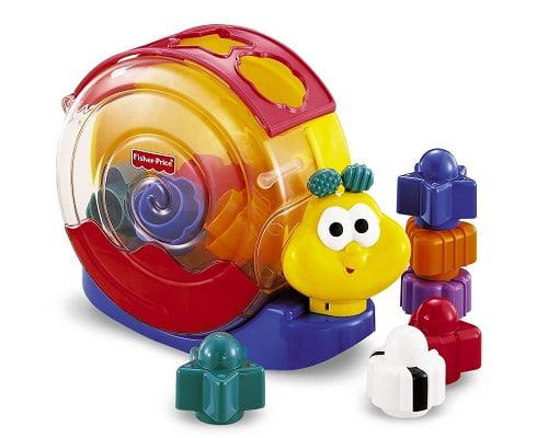 Caracol de bloques y música de Fisher Price barato, juguetes baratos, chollos en juguetes, ofertas en juguetes