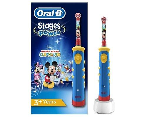 Cepillo de dientes de Mickey Mouse Oral-B barato, cepillos de dientes baratos, ofertas en cepillos de dientes, chollos en cepillos de dientes