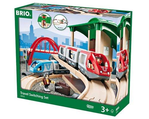 Circuito ferroviario Brio 33512 barato, chollos en circuitos ferroviarios, ofertas en circuitos ferroviarios, tren de juguete barato