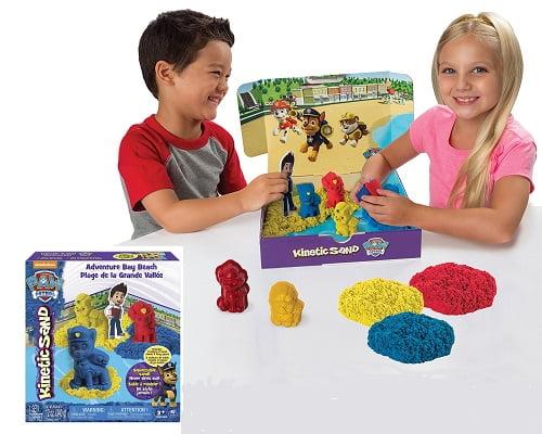 Juego de arena cinética de La Patrulla Canina barato, juguetes baratos, chollos en juguetes, ofertas en juguetes, juguetes de la patrulla canina baratos