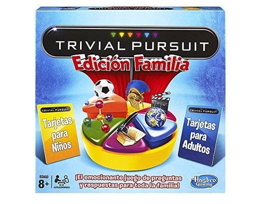 Juego de mesa Trivial Pursuit Edición familiar barato, juegos de mesa baratos, chollos en juegos de mesa, ofertas en juegos de mesa