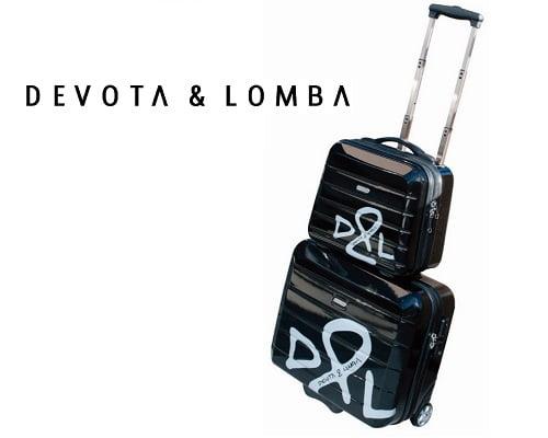 Set de maleta de viaje y neceser Devota y Lomba barato, chollos en maletas de viaje, chollos en neceseres de viaje, neceser de viaje barato, maletas baratas