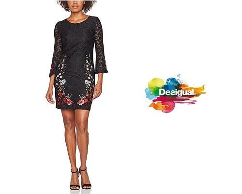 Vestido Desigual Vest_vermond barato, chollos en vestidos Desigual, ofertas en vestidos Desigual, vestidos Desigual baratos