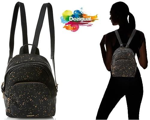 mochila Desigual Perú Metal barata, chollos en mochilas, ofertas en mochilas, mochilas baratas