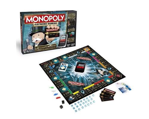 monopoly electrónico barato, ofertas en juegos de mesa, chollos en juegos de mesa, juegos de mesa baratos