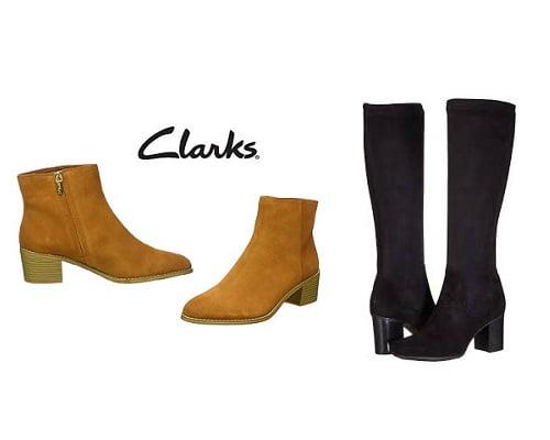 botas Clarks baratas, ofertas en botas de mujer, chollos en botas de mujer, botas de mujer baratas