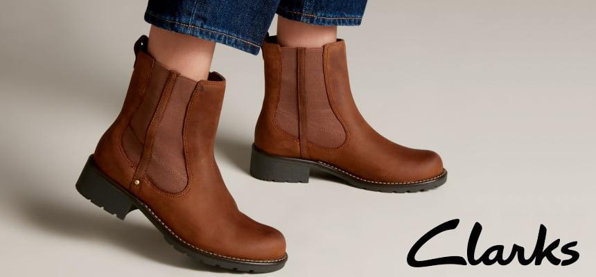 Botas para mujer Clarks Orinoco Club baratas, ofertas en botas de marca