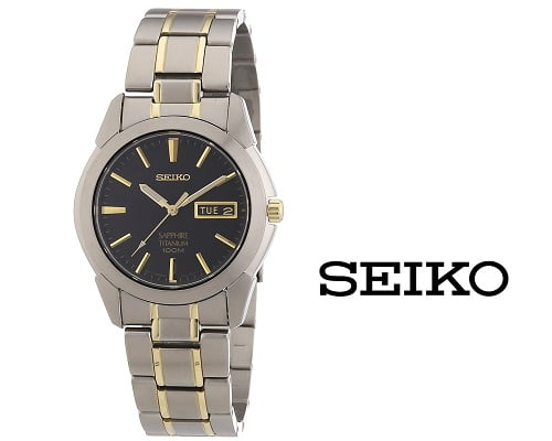 Reloj Seiko analógico barato, chollos en relojes de marca, ofertas en relojes de marca, relojes de marca baratos