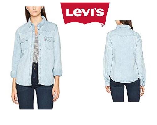Blusa Levi's Modern Western barata, chollos en ropa de mujer de marca, ofertas en ropa de mujer de marca, ropa de mujer de marca barata