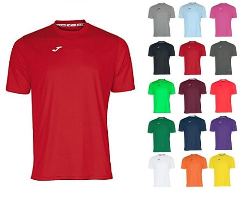 Camiseta manga corta Joma barata, chollos en camisetas de manga corta, ofertas en camisetas de manga corta, camisetas de manga corta baratas