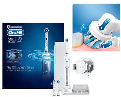 Cepillo de dientes Oral B Genius 8000 barato, chollos en cepillos de dientes, ofertas en cepillos de dientes, cepillos de dientes baratos
