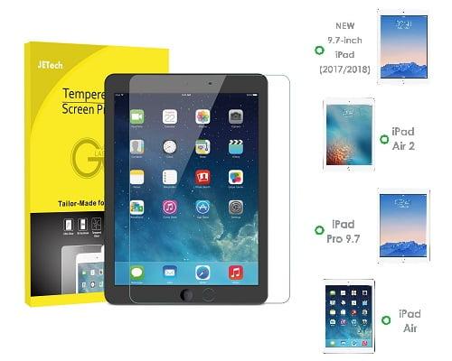 Protector de pantalla para iPad 9,7 pulgadas barata, chollos en protectores para iPad, ofertas en protectores para iPad, protectores para iPad baratos
