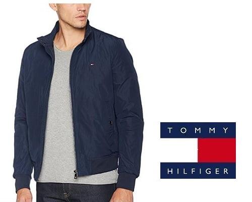 Cazadora Bomber Tommy Hilfiger barata, chollos en cazadoras de marca, ofertas en cazadoras de marca, ropa de marca barata