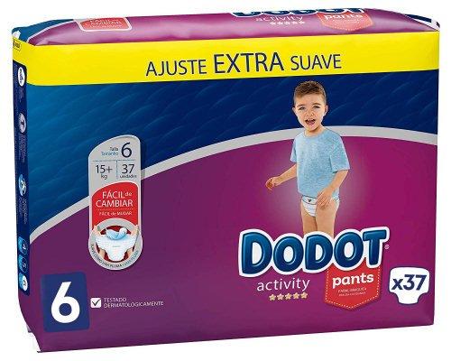 Pack de 37 pañales Dodot Activity Pants T6 baratos, ofertas en pañales