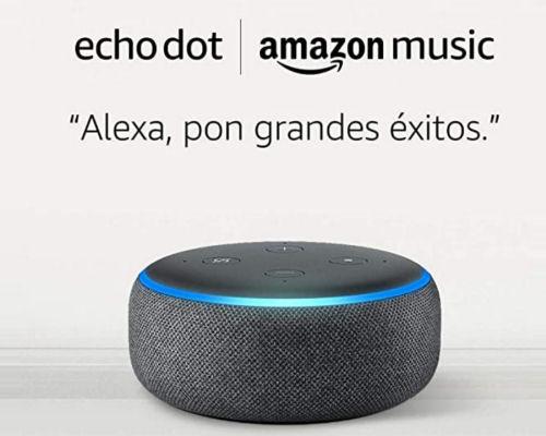 Altavoz inteligente Amazon Echo Dot barato con Alexa, altavoces inteligentes baratos