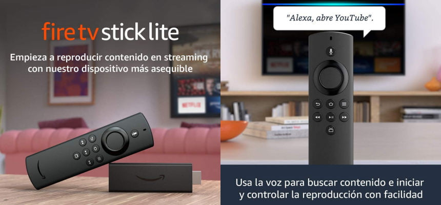Amazon Fire TV Stick Lite barato, ofertas en Fire TV Stick