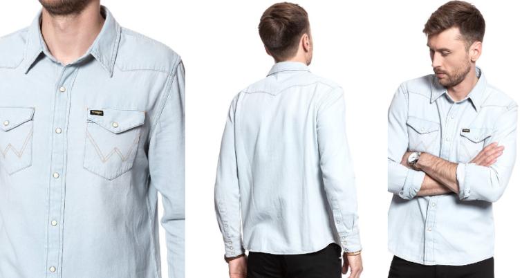 ¡TOMA CHOLLO! Camisa vaquera Wrangler Icons sólo 23,49 euros. 68% de descuento.
