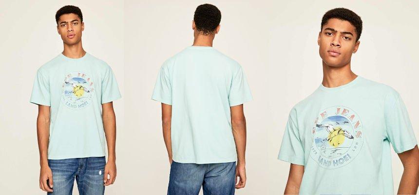 Camiseta Pepe Jeans Murray barata, ropa de marca barata, ofertas en camisetas