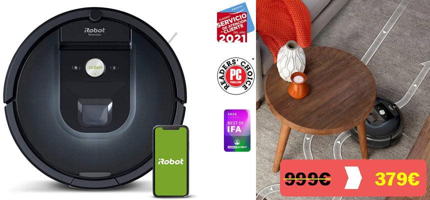Robot aspirador Roomba 981 barato, ofertas en robots aspiradores