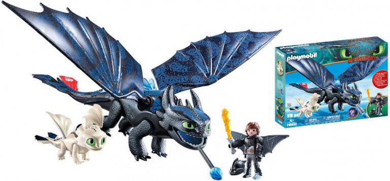 ¡TOMA CHOLLO! Set Playmobil Cómo entrenar a tu dragón sólo 24,99 euros.