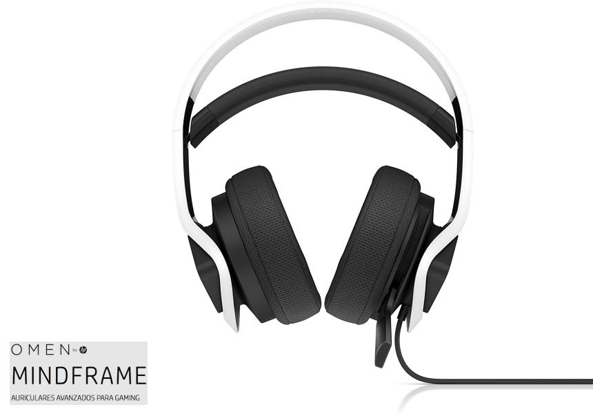 Auriculares gaming HP Omen Mindframe baratos, ofertas en auriculares, large