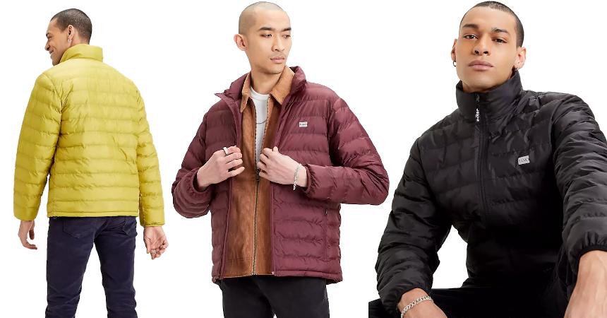Chaqueta Levi's Presidio Packable barata, ropa de marca barata, ofertas en chaquetas oferta