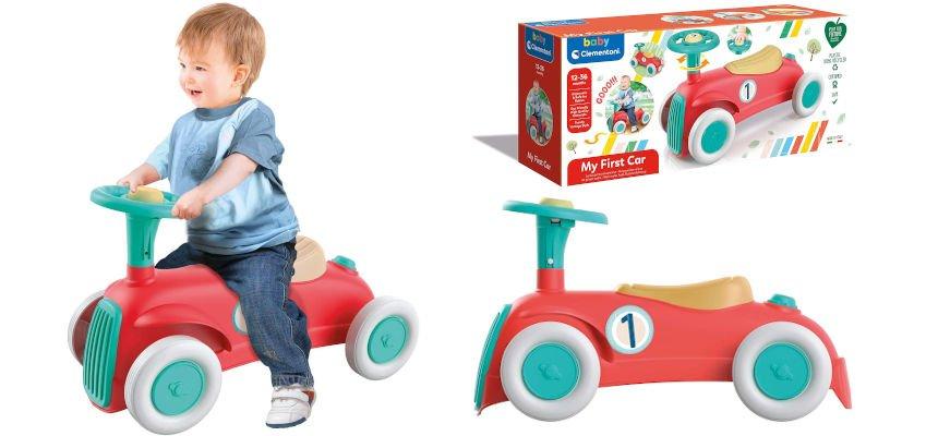 Correpasillos Clementoni Mi primer coche barato, juguetes baratos, ofertas para niños