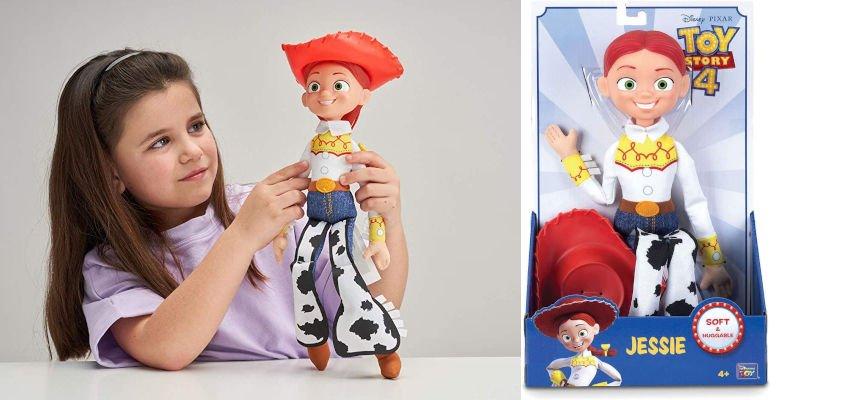 Figura Jessie Toy Story 4 barata, juguetes baratos, ofertas para niños