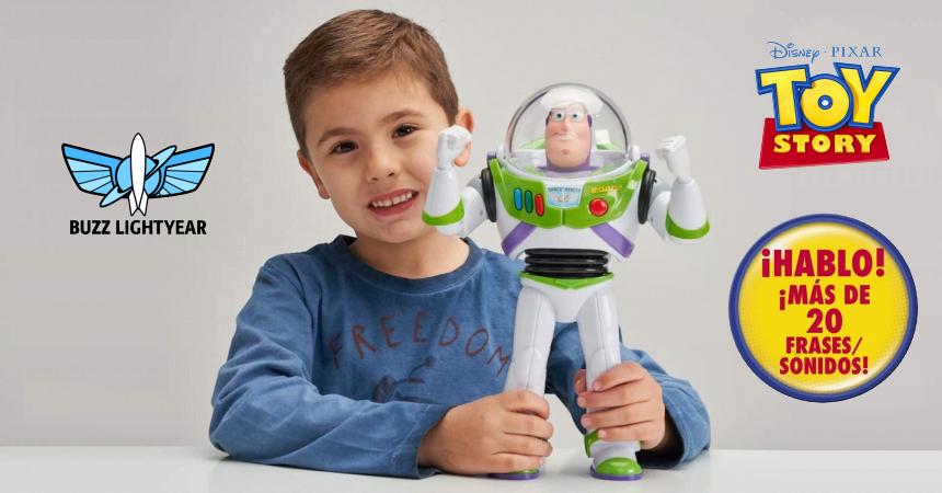 Figura con voz Buzz Lightyear barata, ofertas en juguetes