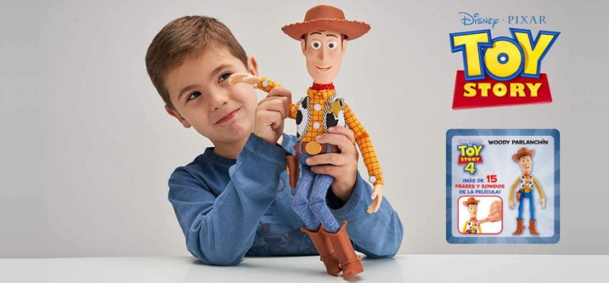 Figura con voz Woody de Toy Story barata, ofertas en juguetes